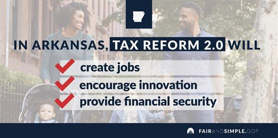 Hill Supports Permanent Tax Relief for Arkansas Families and
